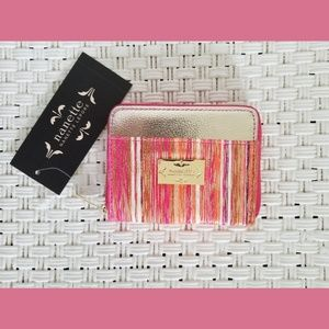 NWT Nanette Lepore Gold/Pink Coin Purse/Wallet